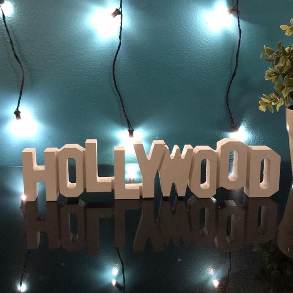 Other Decorative Hollywood Sign Poshmark Stunning Hollywood Sign Decoration